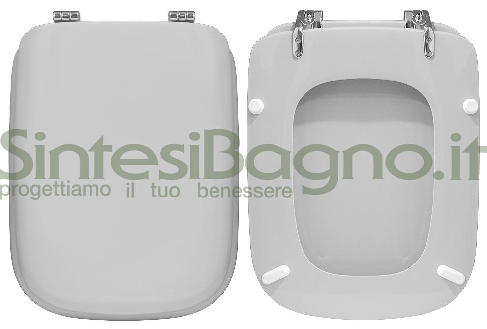 Copriwater DEDICATO per vasi CONCA colore Bianco