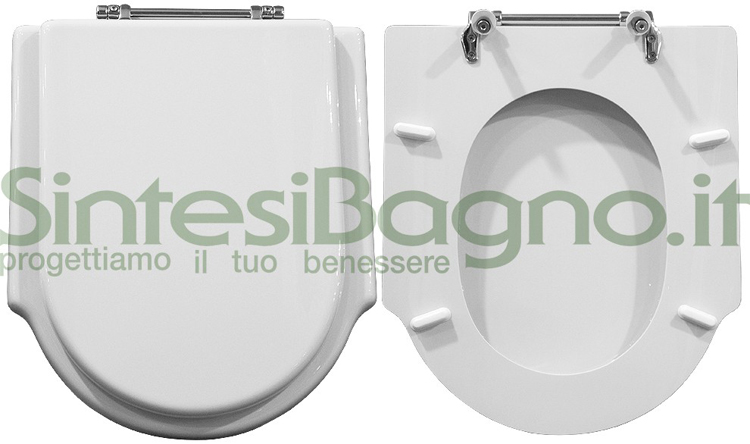 Disponibile il copriwater dolomite serie zagara gamma top for Tavoletta wc dolomite