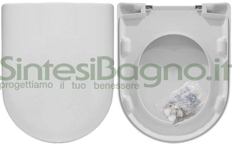Copriwater economici ideal standard in termoindurente il for Sedile wc ideal standard esedra