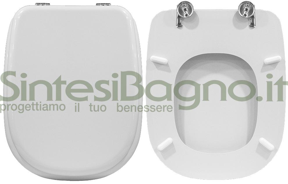Copriwater dedicato TESI Ideal Standard la serie completa sedili WC BIANCHI e COLORATI